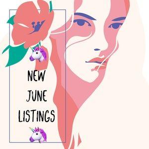 🦄🦄🦄 New June Listings 🦄🦄🦄